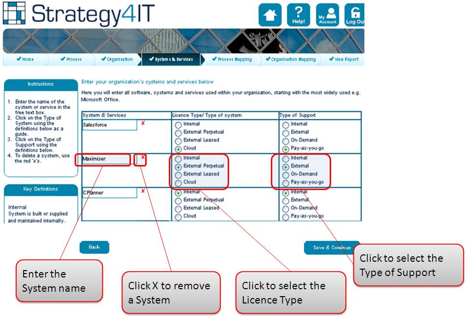 Step 4b – Add your Business Systems Services